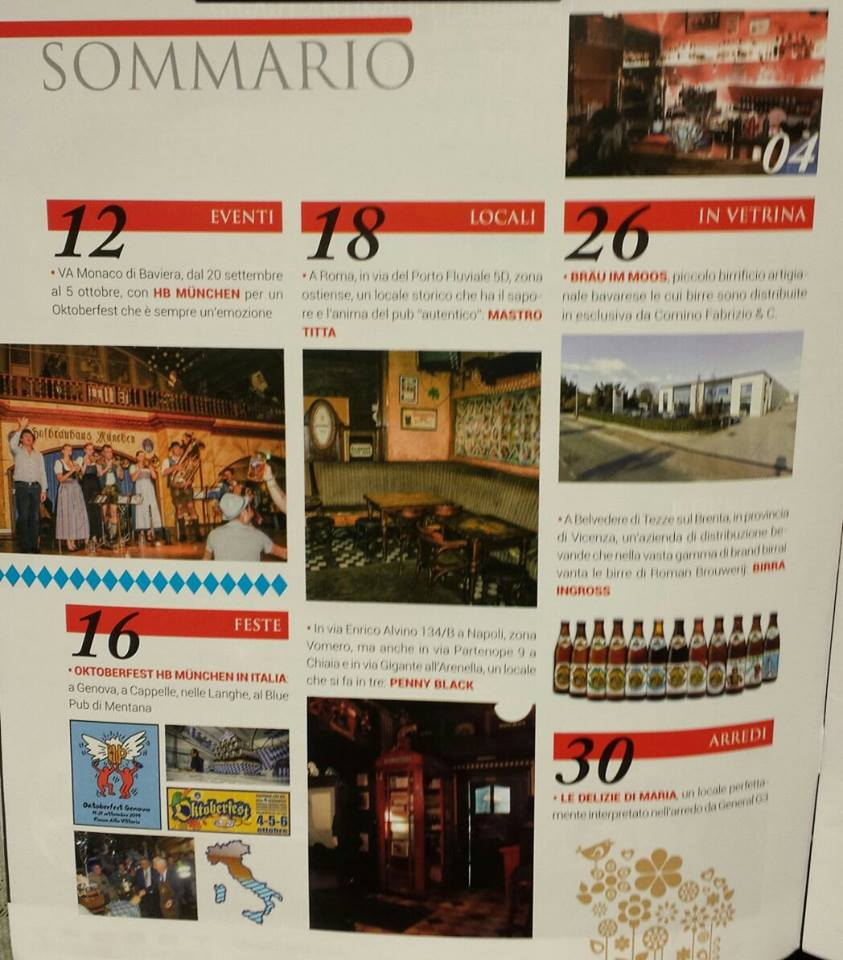 indice rivista Birra And Sound